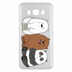 Чехол для Samsung J5 2016 We are ordinary bears