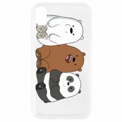 Чехол для iPhone XR We are ordinary bears