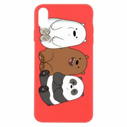Чехол для iPhone Xs Max We are ordinary bears