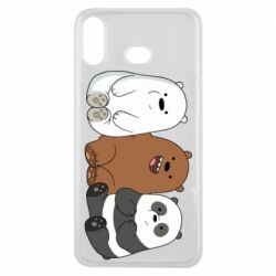 Чехол для Samsung A6s We are ordinary bears