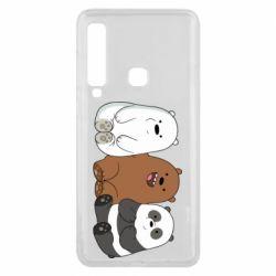 Чехол для Samsung A9 2018 We are ordinary bears