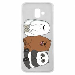 Чехол для Samsung J6 Plus 2018 We are ordinary bears