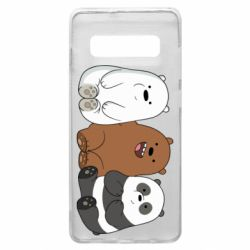 Чехол для Samsung S10+ We are ordinary bears