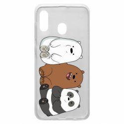 Чехол для Samsung A30 We are ordinary bears