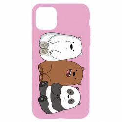 Чехол для iPhone 11 Pro We are ordinary bears