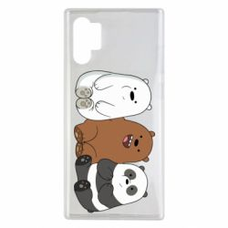 Чехол для Samsung Note 10 Plus We are ordinary bears