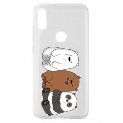 Чехол для Xiaomi Mi Play We are ordinary bears