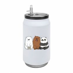 Термобанка 350ml We are ordinary bears