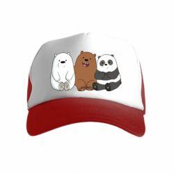 Детская кепка-тракер We are ordinary bears