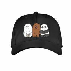 Детская кепка We are ordinary bears