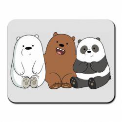 Коврик для мыши We are ordinary bears