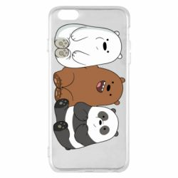 Чехол для iPhone 6 Plus/6S Plus We are ordinary bears