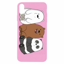 Чехол для iPhone X/Xs We are ordinary bears