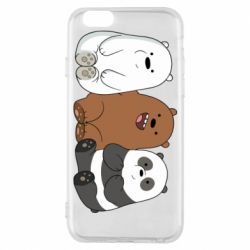Чехол для iPhone 6/6S We are ordinary bears