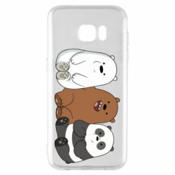 Чехол для Samsung S7 EDGE We are ordinary bears