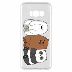 Чехол для Samsung S8 We are ordinary bears