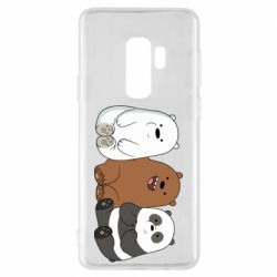 Чехол для Samsung S9+ We are ordinary bears