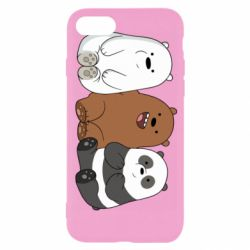 Чехол для iPhone 8 We are ordinary bears