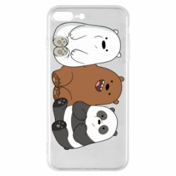 Чехол для iPhone 8 Plus We are ordinary bears