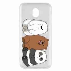 Чехол для Samsung J5 2017 We are ordinary bears