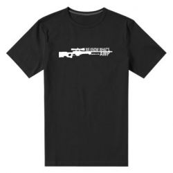 Мужская стрейчевая футболка We know what's awp