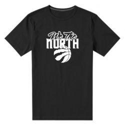 Чоловіча стрейчева футболка We the north and the ball