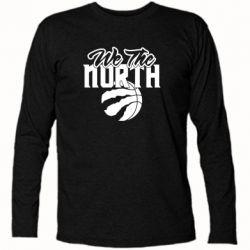 Футболка з довгим рукавом We the north and the ball