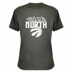 Камуфляжна футболка We the north and the ball