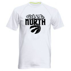 Чоловіча спортивна футболка We the north and the ball