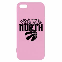 Чохол для iphone 5/5S/SE We the north and the ball