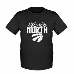 Дитяча футболка We the north and the ball