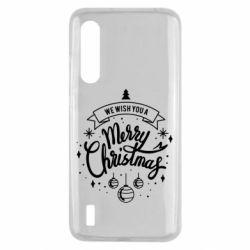 Чохол для Xiaomi Mi9 Lite We wish you a