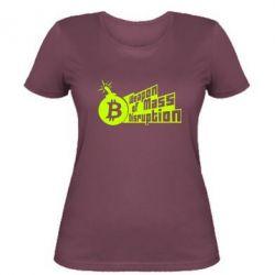 Женская футболка Weapon of Mass Disruption