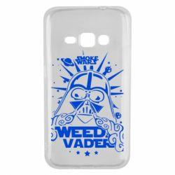 Чехол для Samsung J1 2016 Weed Vader