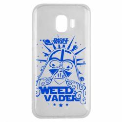 Чехол для Samsung J2 2018 Weed Vader