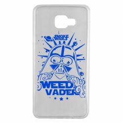 Чехол для Samsung A7 2016 Weed Vader