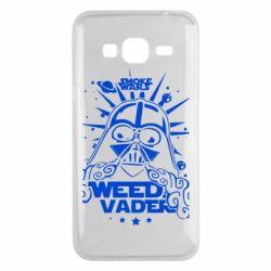 Чехол для Samsung J3 2016 Weed Vader