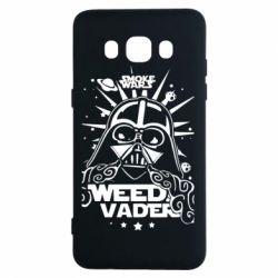 Чехол для Samsung J5 2016 Weed Vader