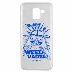 Чехол для Samsung J6 Weed Vader