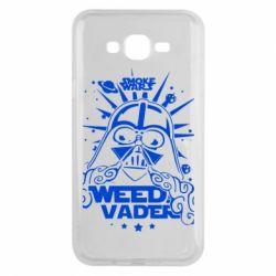 Чехол для Samsung J7 2015 Weed Vader