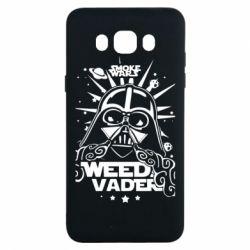 Чехол для Samsung J7 2016 Weed Vader