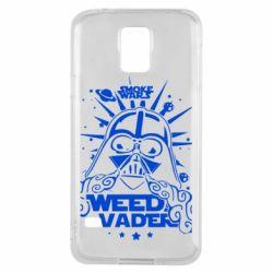 Чехол для Samsung S5 Weed Vader