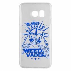 Чехол для Samsung S6 EDGE Weed Vader