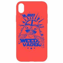 Чехол для iPhone XR Weed Vader