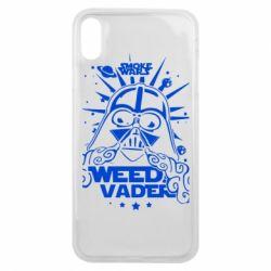 Чехол для iPhone Xs Max Weed Vader