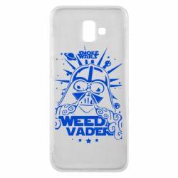 Чехол для Samsung J6 Plus 2018 Weed Vader
