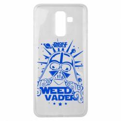Чехол для Samsung J8 2018 Weed Vader