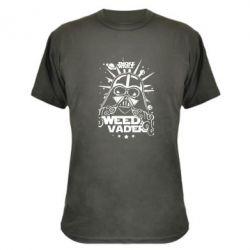 Камуфляжная футболка Weed Vader - FatLine
