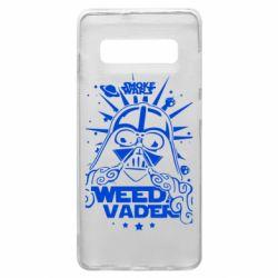 Чехол для Samsung S10+ Weed Vader