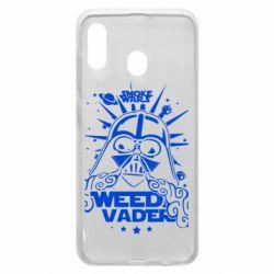 Чехол для Samsung A20 Weed Vader